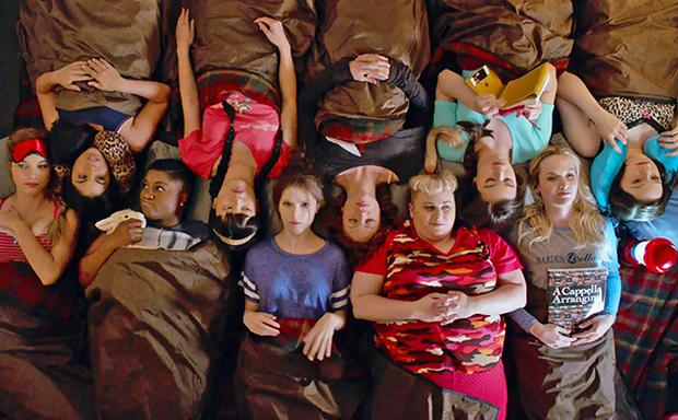 The gang is back for Pitch Perfect 2