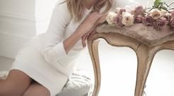 Down to earth: Classical soprano Katherine Jenkins is used to being hounded by the media, and says it is a hard part of her job as she never expected to be famous.