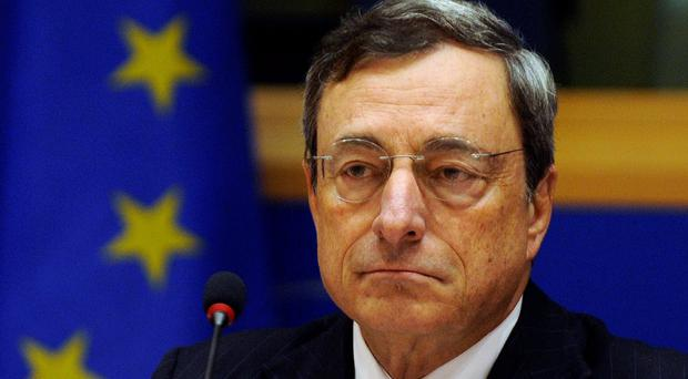 ECB President Mario Draghi. Reuters