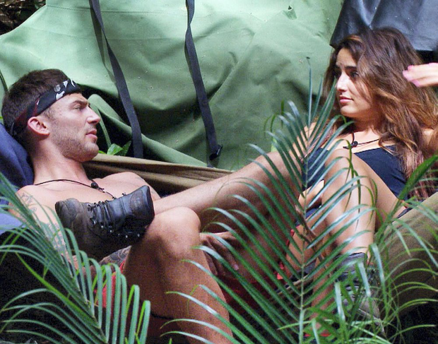 Jake and Nadia on I'm a Celebrity Get Me Out of Here