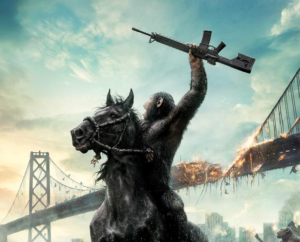 HAIL OUR NEW APE OVERLORDS: Make the living room a bit cosier by screening 'Dawn of Planet of The Apes'. Just don't let the pets get any ideas