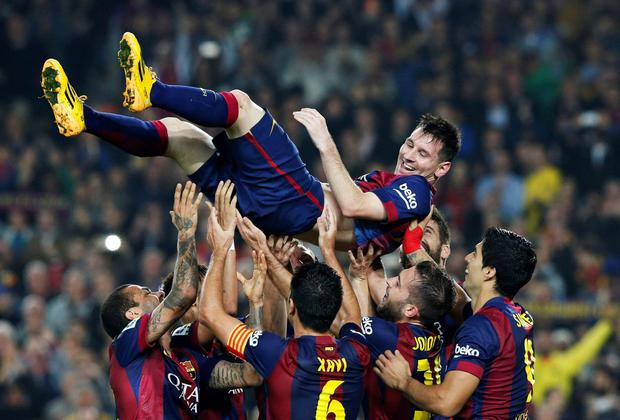 Lionel Messi keeps breaking records