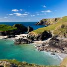 Kynance Cove on the Lizard Peninsula, Cornwall