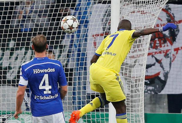 Chelsea's Ramires scores his side's fifth goal