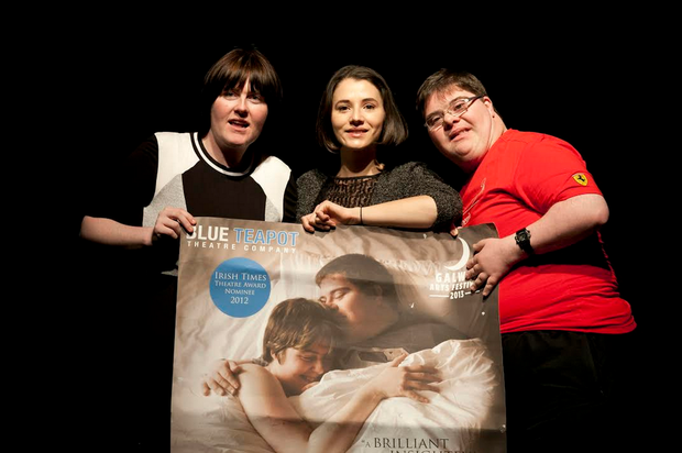 Love/Hate actress Charlie Murphy launched 'Sanctuary' with lead actors Charlene Kelly and Kieran Coppinger.