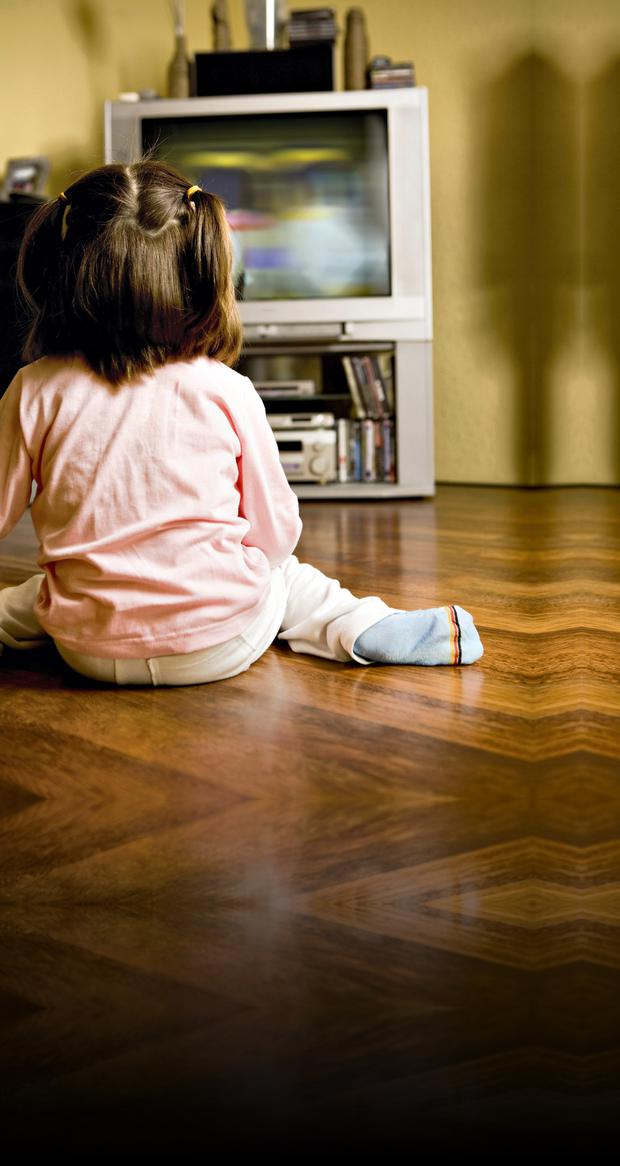 Toddlers who watch three hours of TV a day can have problems in later life