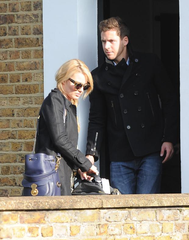 Margot Robbie and Tom Ackerley spotted in London