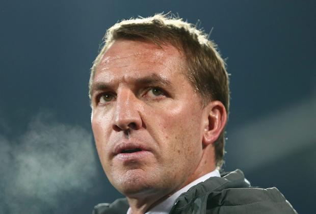 Liverpool manager Brendan Rodgers has had a difficult season so far. Michael Steele/Getty Images