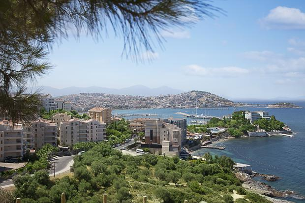 Kusadasi, the resort town on Turkey's Aegean Coast