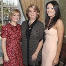 Cecilia Ahern ,Miriam Ahern and Georgina Byrne at Miriam Ahern's Cari Charity Lunch at The Four Seasons Hotel Dublin Pictures:Brian McEvoy No Repro fee for one use CARI Christmas Lunch CARI today hosted a Christmas Lunch at The Four Seasons Dublin.r. CARI whose Patron is Miriam Ahern provides a professional child therapy and counselling service to children and families who have been affected by child sexual abuse. Glamorous and stylish ladies dressed in chic seasonal looks, were out in force to enjoy the wonderful surroundings of The Four Seasons. The afternoon began with a champagne reception kindly supported by M&S. The reception was followed by a delicious four-course gourmet lunch with wines supported by M&S. The charismatic Alan Hughes from TV3 was the MC for the afternoon. During lunch guests were entertained by The Halleluia Gospel Choir and Sisters of Sound. Guests who attended on the day included Miriam Ahern and Terry Mc Coy, Georgina Byrne, Cecelia Ahern, Yvonne Keating, Orla de Bri and Jane Given. Also in attendance were Carmel Breheny from M&S, Norah Casey, Claire Ronan, Sean Musanje, Chris Doyle and Gary Kavanagh to name but a few of the social faces who were enjoying the afternoon. Guests didnt walk away empty handed as they received packed goody bags with treats from Cecelia Aherns new book 'Love Rosie' and a Newbridge Silverware Christmas tree decoration. A fun filled raffle concluded the afternoon and guests moved onto House Dublin to continue the celebrations. Mary Flaherty CEO CARI commented Our fundraising events are more important than ever in the current recession where every year state funding to charities is reducing. It is cut by more than fifteen per cent on three years ago and that represents a lot of lost therapeutic hours with families and employment in our organisation. Most of you would be shocked to know that statutory and voluntary services for children from two to eighteen are significantly less tha