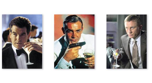 Cocktail kits as immortalised by 007