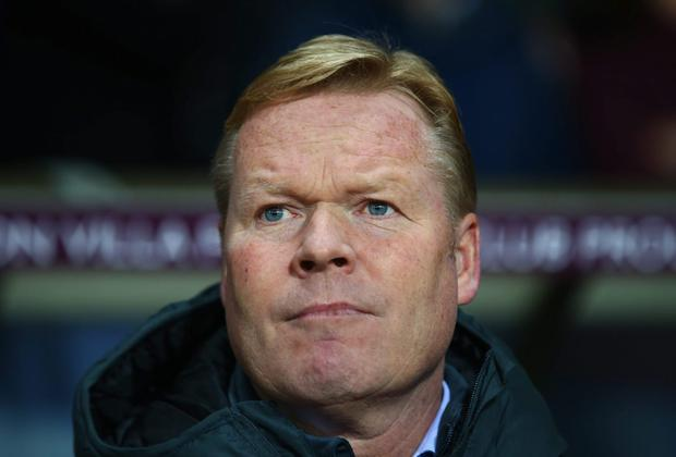 Ronald Koeman believes the prospect of Southampton qualifying for the Champions League could become more realistic over the coming weeks. Photo: Matthew Lewis/Getty Images