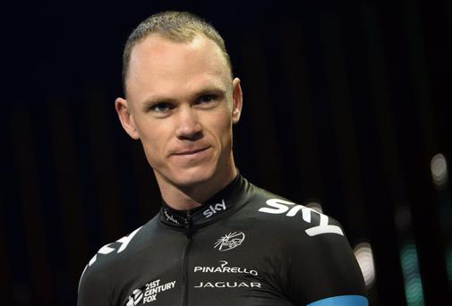 Chris Froome is a well-placed third in the overall standings of the Tour de Romandie