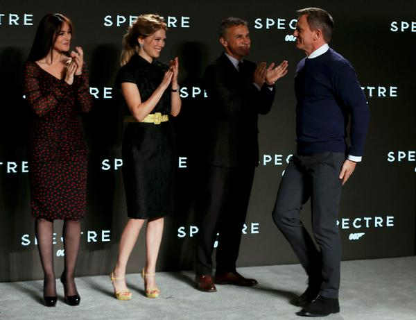 The name's Spectre' - new Bond title revealed and Dubliner