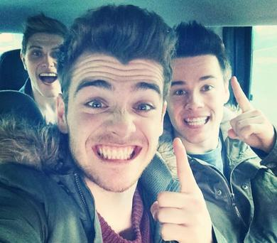 Ryan McLoughlin posted this pic to Instagram following news Hometown hit number 1 in the Irish charts