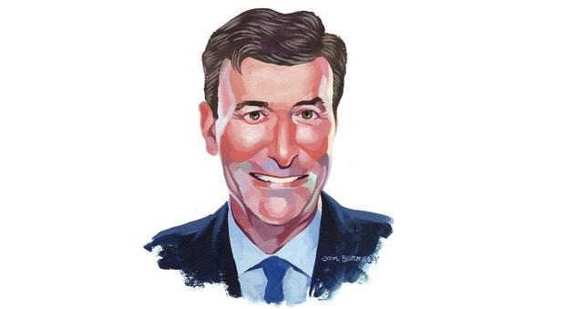 Entrepreneur of the Year: Mark Roden. Illustration by Jon Berkeley
