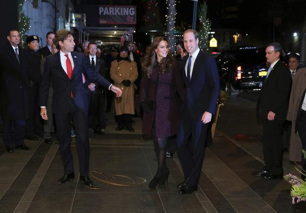 Prince William and his wife Kate are on their first visit to New York City, a whirlwind trip that includes visits to a Harlem child development center and the September 11 Monument and Museum. REUTERS/Neilson Barnard/Pool