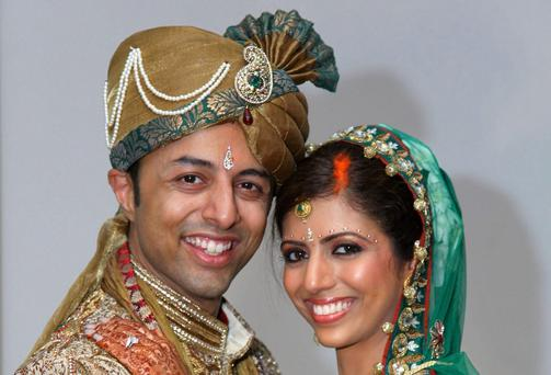 Shrien Dewani with Anni on their honeymoon. Bristol Evening Post/PA Wire