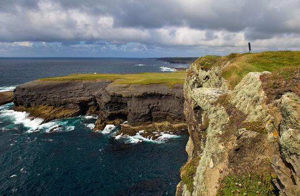 Kilkee cliffs, Co. Clare