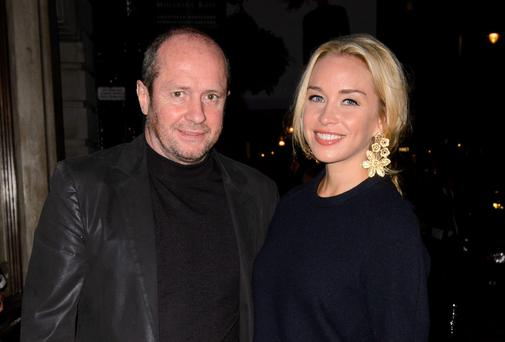 Tycoon Scot Young with girlfriend Noelle Reno