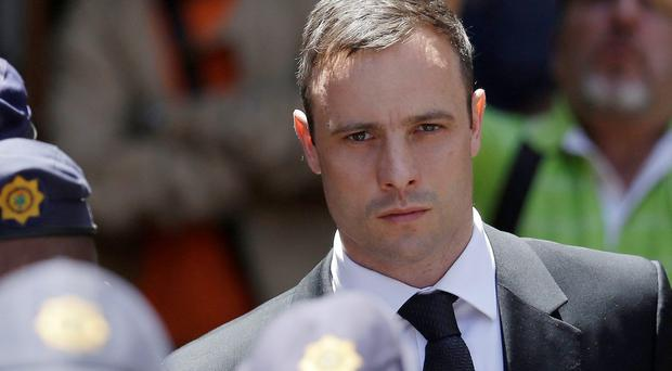 Oscar Pistorius after his sentencing