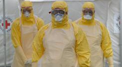 Volunteer doctors who travelled to West Africa to help care for Ebola patients