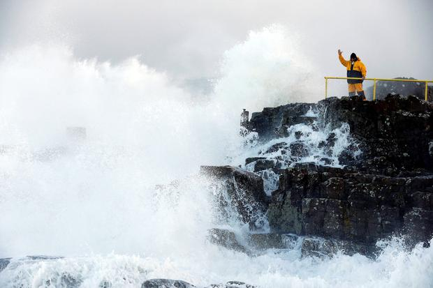 Four weather warnings in place ahead of Storm Fionn