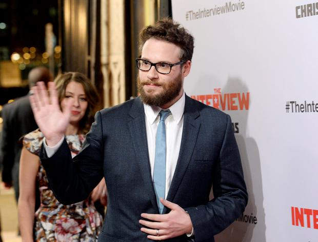 Cast member Seth Rogen joined President Barack Obama and fellow celebrities to stand up to the cyber attackers