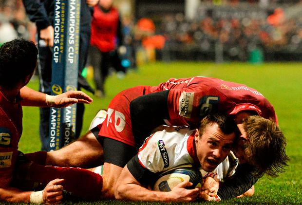 Scarlets Bench Press Looks To Be A Burden For Ulster