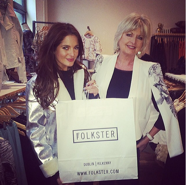 Binky and Jane shop at Folkster