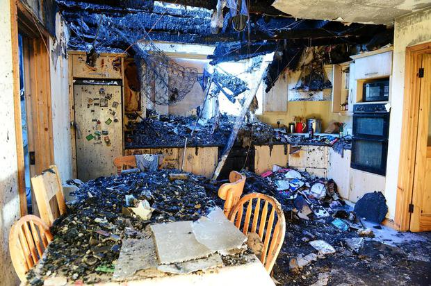 a small fire that started in a fuse box destroyed this family home rh independent ie fuse box fire hazard fuse box fire causes