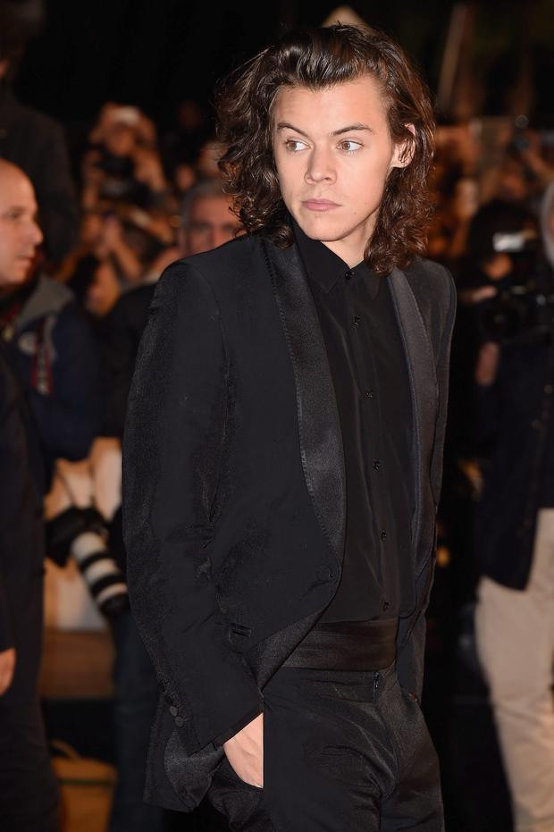 CANNES, FRANCE - DECEMBER 13: One Direction member Harry Styles attends the NRJ Music Awards at Palais des Festivals on December 13, 2014 in Cannes, France. (Photo by Pascal Le Segretain/Getty Images)