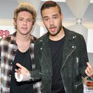 Niall Horan and Liam Payne at the 2014 iHeartRadio Music Festival at MGM Grand Garden Arena in Las Vegas on September 20