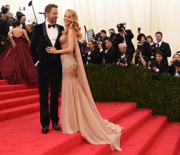 Do you think we wouldn't mention Ryan Reynolds and Blake Lively? Who may have been genetically engineered to procreate.