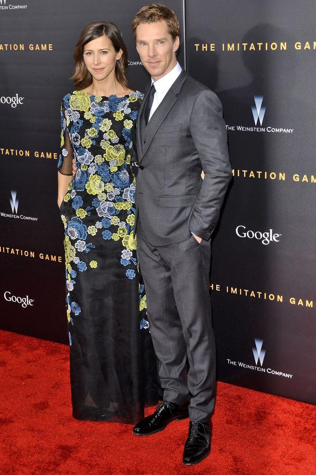 Benedict Cumberbatch and his fiance Sophie Hunter made their red carpet debut in the classiest way possible. Obviously.