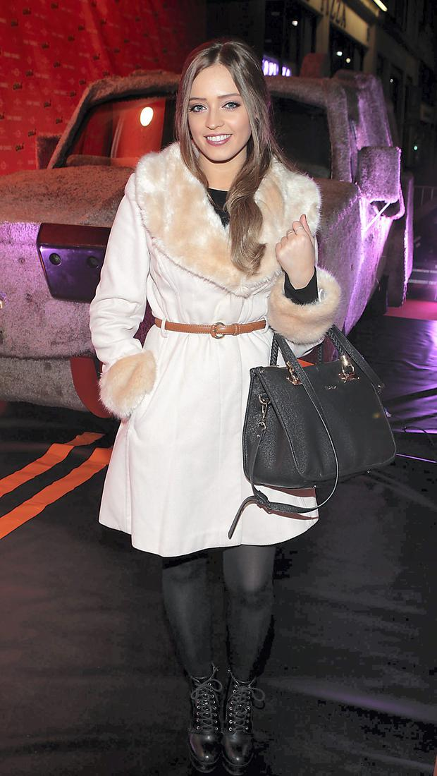 TV presenter Diana Bunici at The Irish Premiere screening of Dumb and Dumber To at The Savoy Cinema Dublin
