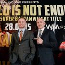 Carl Frampton has split with Barry McGuigan