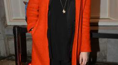 Jennifer Maguire at the new H&M Flagship store in Ireland on Dublin's College Green, Dublin, Ireland - 18.12.14.