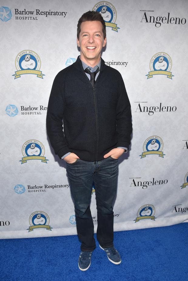 LOS ANGELES, CA - OCTOBER 20: Actor Sean Hayes attends the Barlow Respiratory Hospital;s 4th Annual Bernie Brillstein Golf Classic Awards Dinner at the Wilshire Country Club on October 20, 2014 in Los Angeles, California. (Photo by Alberto E. Rodriguez/Getty Images)