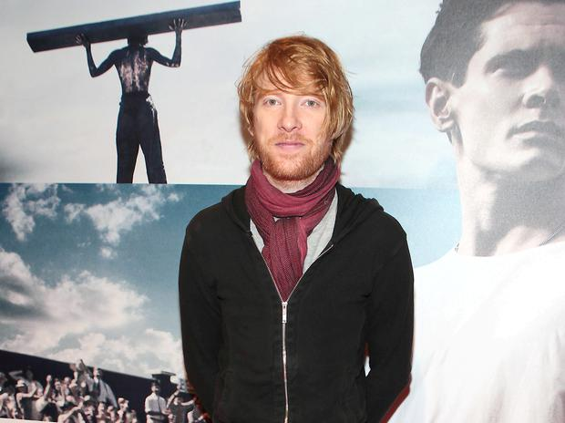 Domhnall Gleeson pictured at the Screen Cinema for the Irish premiere tonight of his new movie