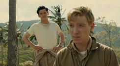 Jack O'Connell said he relied on the support of Domhnall Gleeson when they had to lose two stone for roles in Unbroken