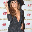 Nadia Forde at the new H&M flagship store in Ireland on Dublin's College Green