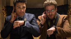 Pulled: Controversial film The Interview. AP Photo/Columbia Pictures