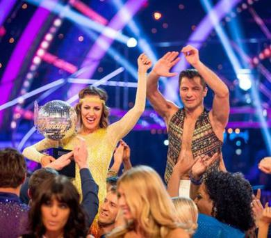 Caroline Flack won the glitterball trophy on the show last year