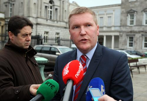 Fianna Fail's Michael McGrath. Photo: Tom Burke