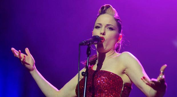 Imelda May live at the 3 Arena, Dublin