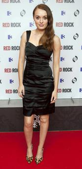 Elva Trill at the special pre-screening of new Tv3 Soap Red Rock at The Lighthouse Cinema