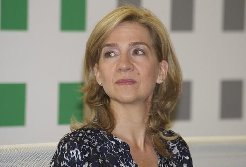 Princess Cristina, the king's sister, is the first member of the Spanish royal family to face charges in court since the monarchy was restored back in 1975. Carlos Alvarez/Getty Images