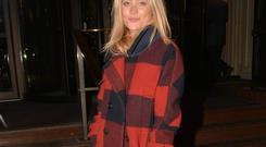Laura Whitmore spotted at The Westbury Hotel