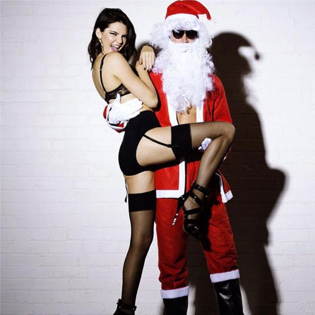 Kendall Jenner in the LOVE Advent Calendar video